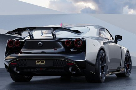 You can't hold the beast back: Nissan GT-R 50 supercar by Italdesign has arrived