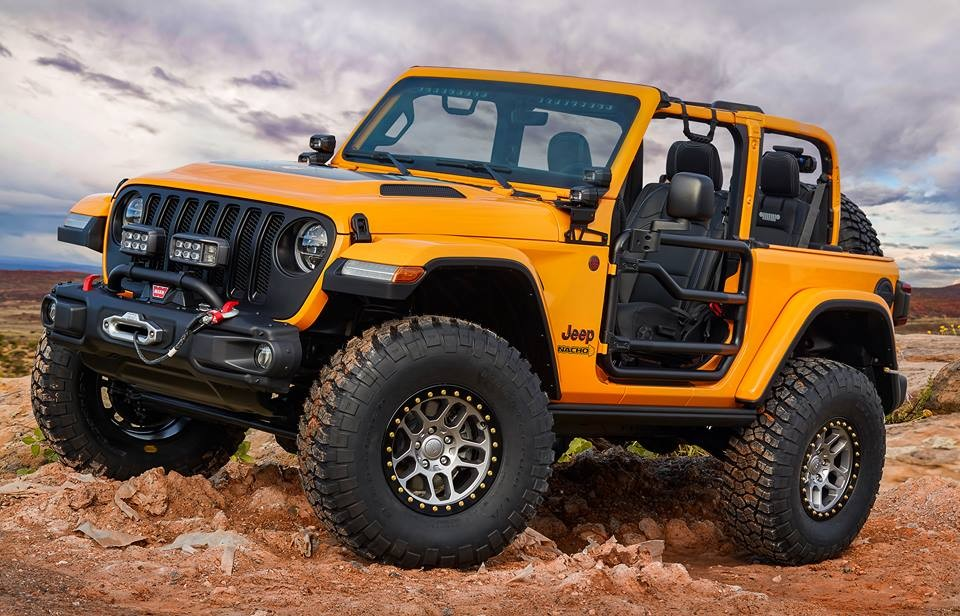 Nacho Jeep -a rolling catalog of Jeep Performance Parts available for the all-new Wrangler