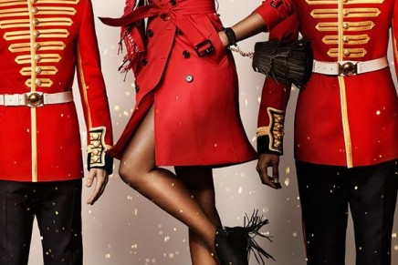 A cast of British icons from film, TV, music and fashion for Burberry Festive Film