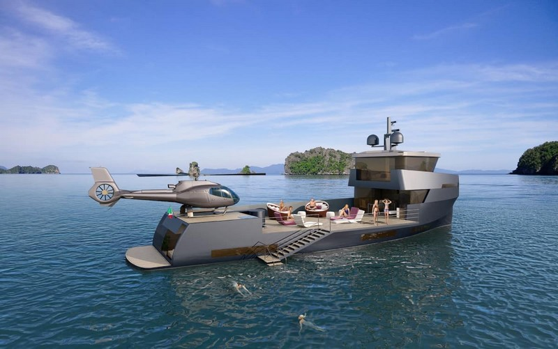 Naucrates Yacht 85ft by Green Yachts