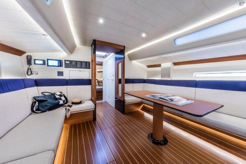 Nautor's Swan ClubSwan 50 - World Premiere at boot dusseldorf - interiors2