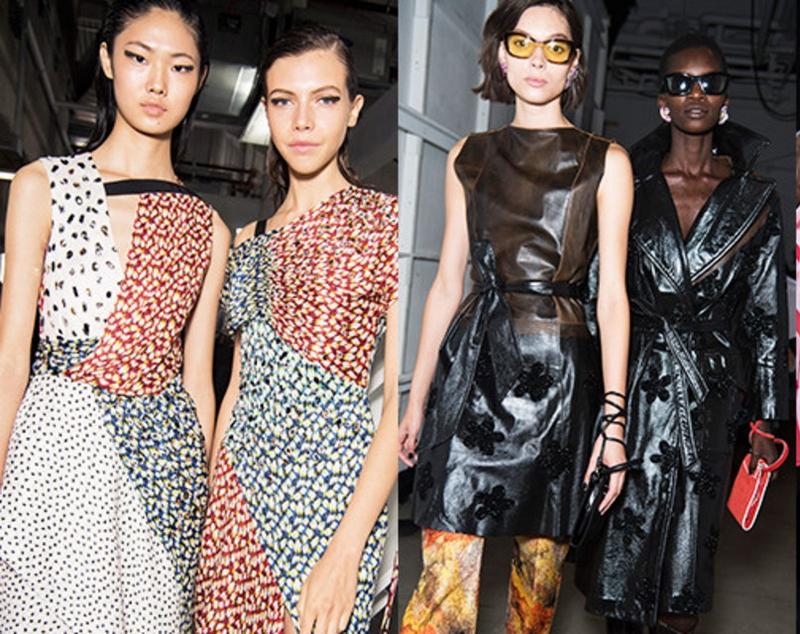 Nearly 2.2 Million Swarovski Crystals Hit The Runway During New York Fashion Week