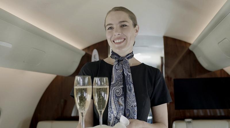 NetJets Flight Attendant