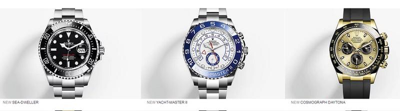 New 2017 Rolex Watches