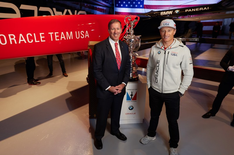 New America's Cup class yacht achieves speeds of up to 100 kmh-