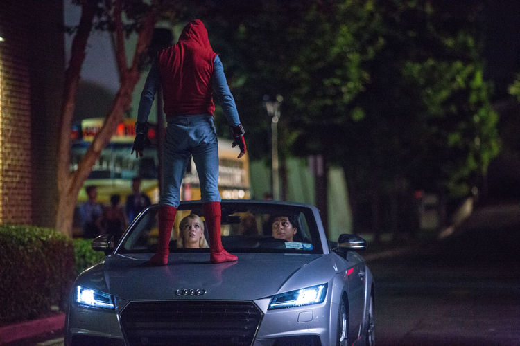 New Audi A8 to Make Its Debut in 'Spider-Man Homecoming'