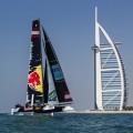 New GC32 foiling catamaran launched in front of Burj al Arab