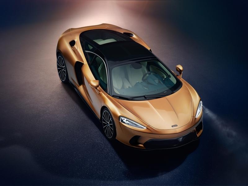 New McLaren GT - superlight Grand Touring