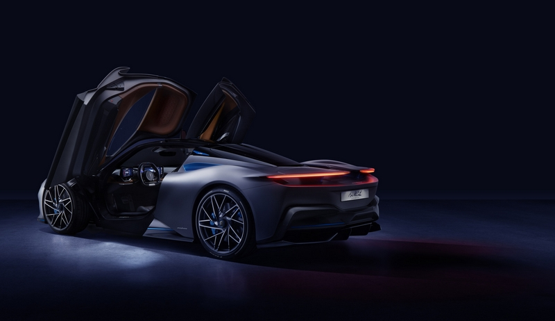 New Pininfarina Battista electric hypercar premieres in the USA - 2019