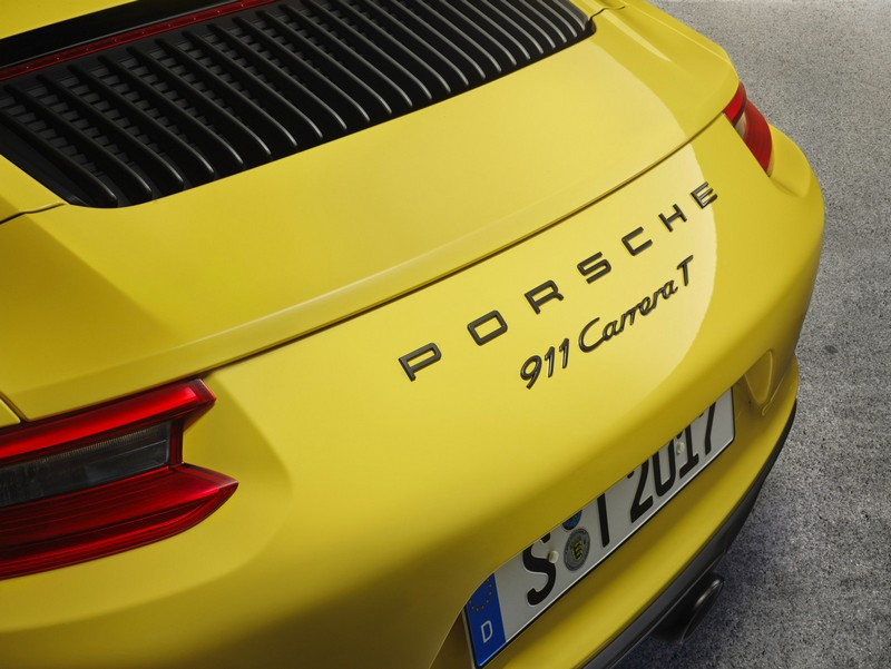 New Porsche 2018 911 Carrera T