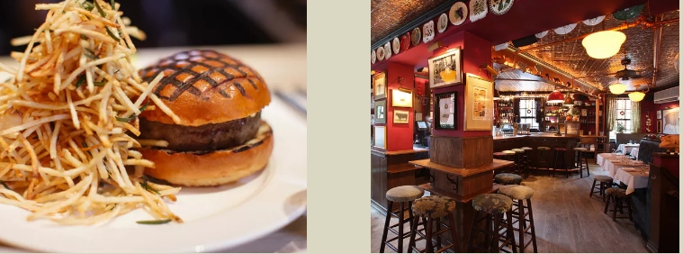 New York City's Essential Group Food Crawl Destinations - The Spotted Pig