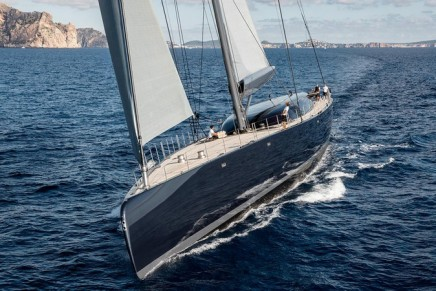 Powerful performance sloop and multiple award winning NGONI: 2018 Best Naval Architecture Sailing Yachts & Best Exterior Styling