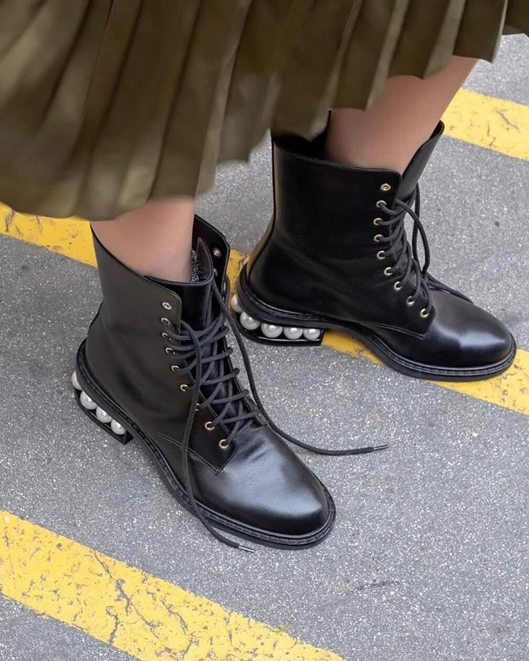 Nicholas Kirkwood Nicholas Kirkwood combat boots 2019