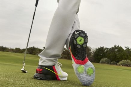 The most innovative golf shoe is a running shoe that can play golf. This is how it works