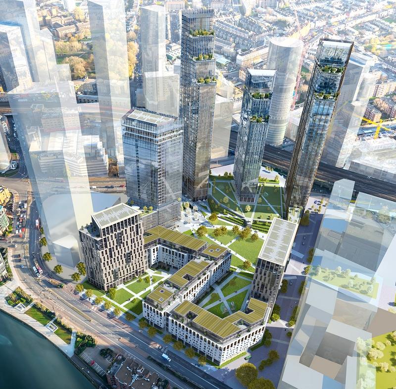 Nine Elms Square Luxury Residential Development London