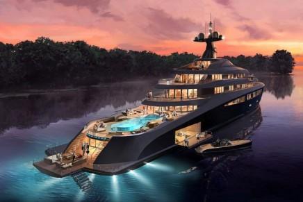 Nobiskrug x Claydon Reeves for the 110-meter Radiance superyacht