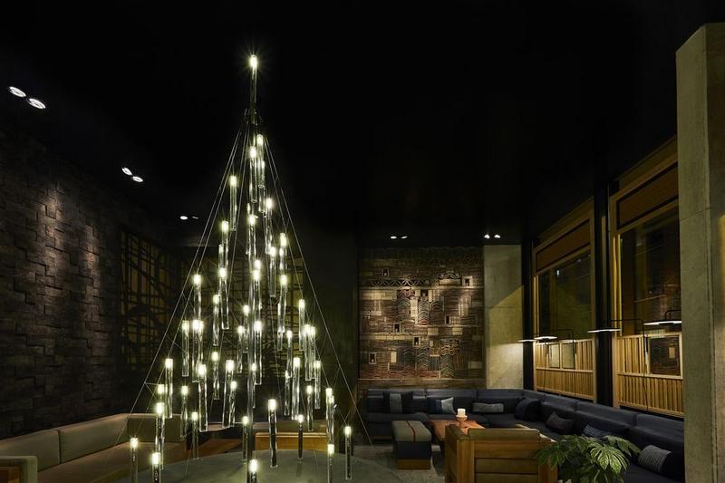 Nobu Hotel 2018 Christmas Tree