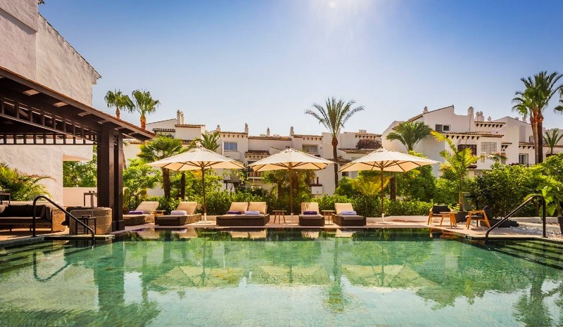 Nobu Marbella Pool