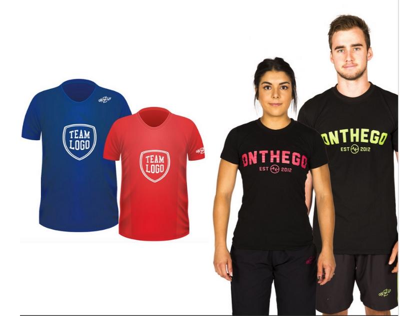 ONTHEGO's custom apparel