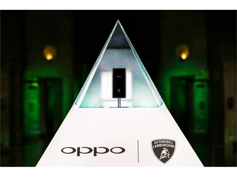 OPPO Find X Automobili Lamborghini Special Edition is the first Lambosmartphone