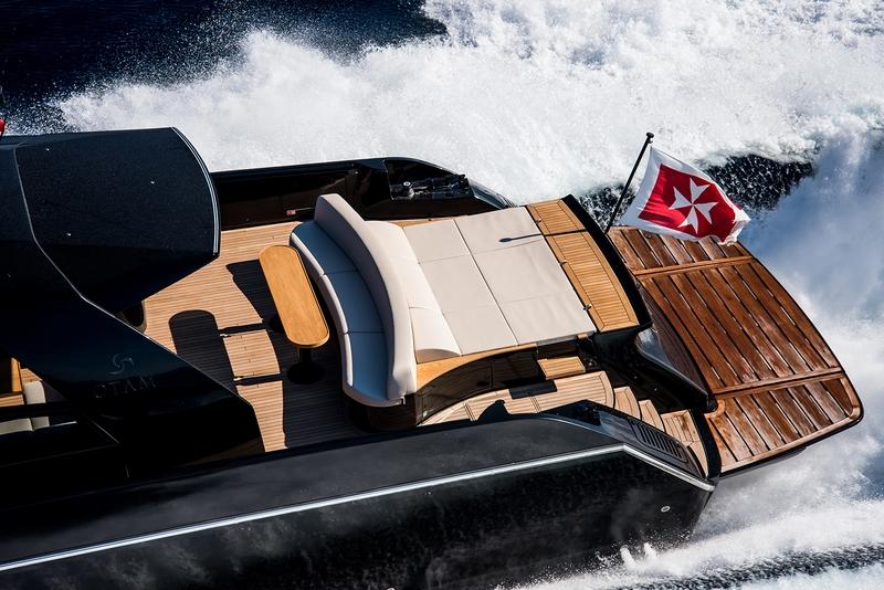 OTAM 85 GTS boat 2019