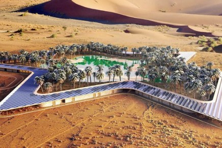 A new UAE eco-resort slated for completion in 2020 is striving to be the greenest in the world