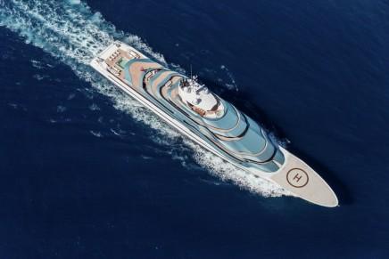 Three Fresh Prestigious Awards for Oceanco's 110m JUBILEE