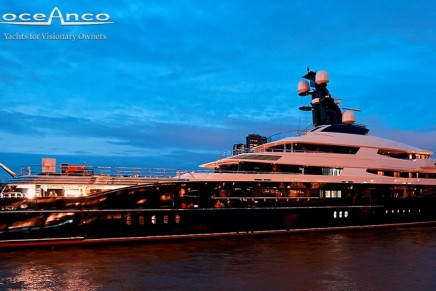 """""""Best Yacht of the Year"""" and """"Best Yacht in Show"""" titles won by Oceanco's 91.5m Equanimity"""