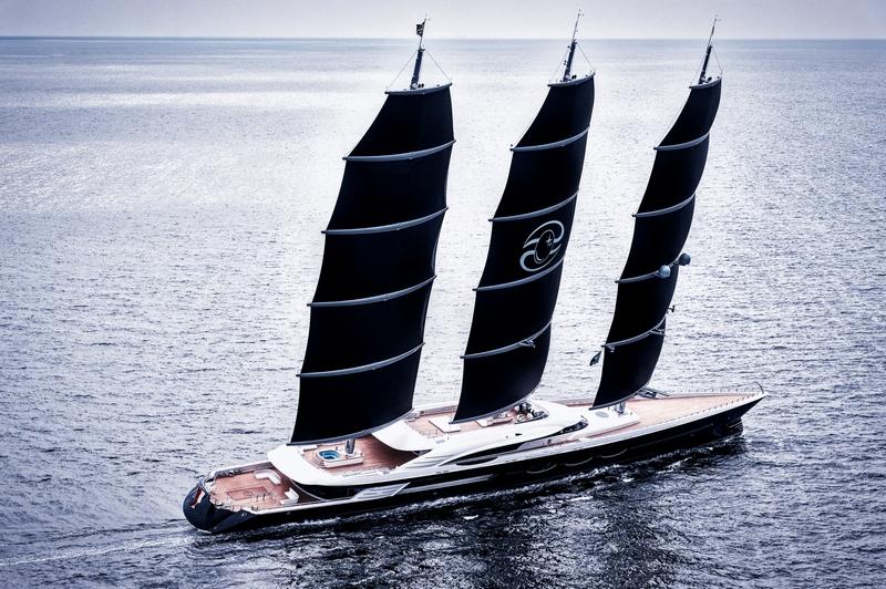 Oceanco Black Pearl sailing yacht