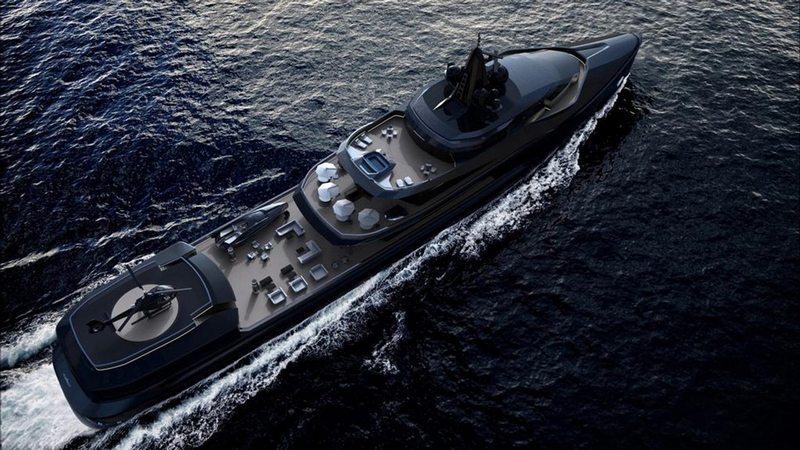 Oceanco Esquel 105-Meter Expedition Yacht
