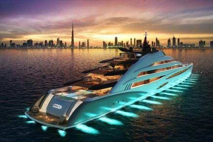 Oceanco's newly engineered Amara is a 120-meter resort yacht