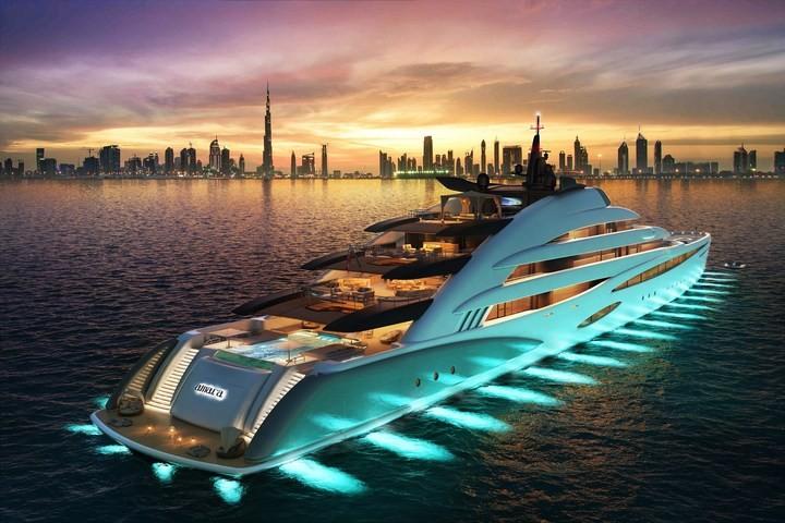 Oceanco Unveils Amara its 120-Meter Resort Yacht