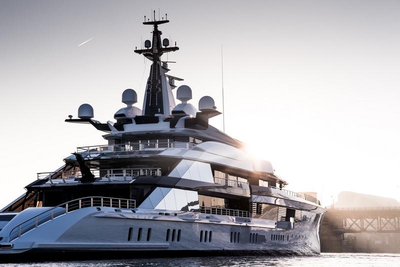 Oceanco's 109mBravo superyacht -