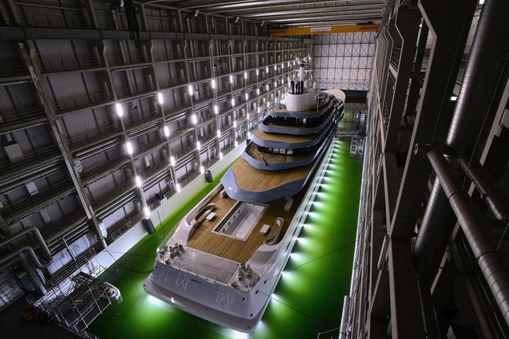 Oceanco's Y714 Launch-
