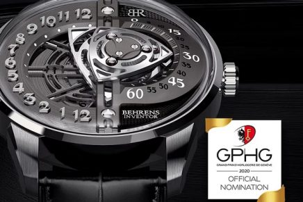 Behrens Rotary watch simulates the motion of the iconic Mazda's Rotary engine