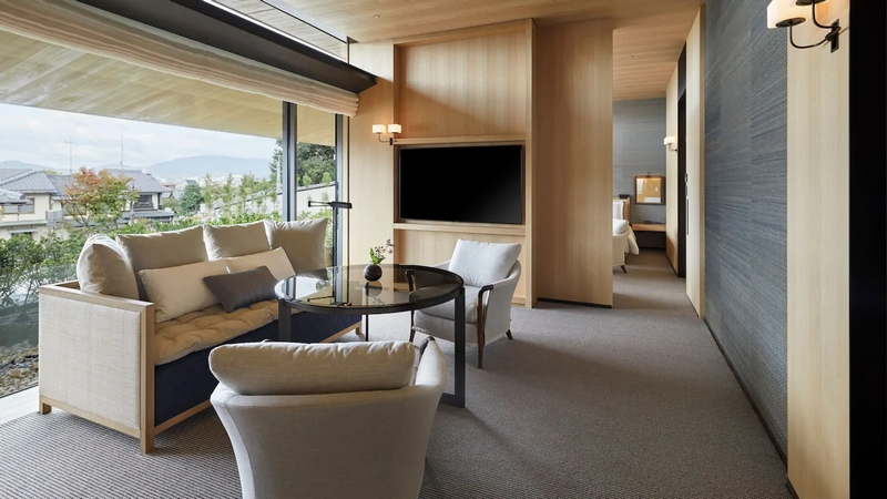 Officialy Open - Park Hyatt Kyoto Hotel -The Park Suite