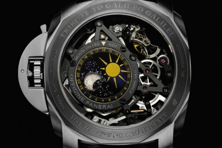 Tribute to Galileo Galilei: L'Astronomo Luminor 1950 Tourbillon Moon Phases – An Exclusive Creation, made to order and personalisable