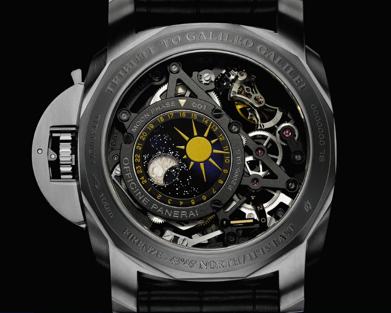 Officine Panerai L'Astronomo - Luminor 1950 Tourbillon Moon Phases Equation of Time GMT watch