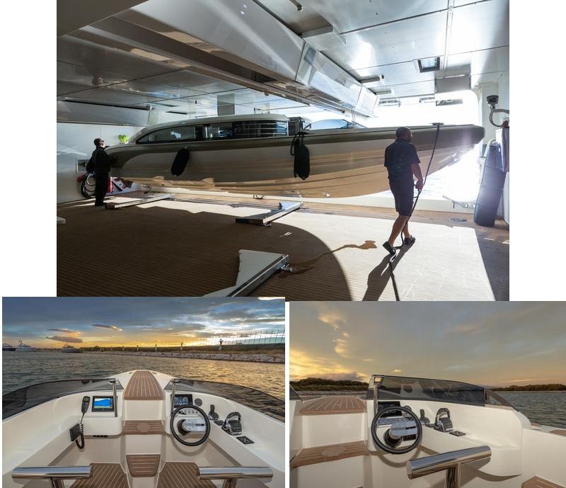 Onda 321L is an outstanding luxury service boat