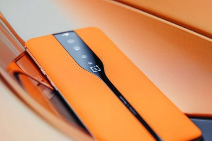 This McLaren Design-inspired smartphone debuts industry-first disappearing rear camera