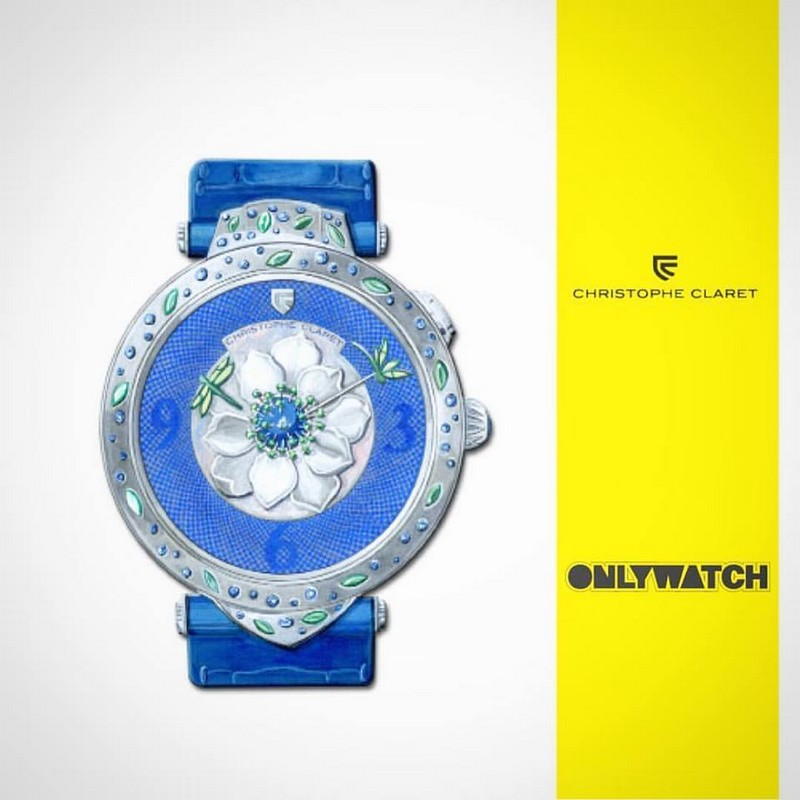 Only Watch 2017 - Cristophe Claret Magicafiore, an exceptional and oneofakind ladies' watch