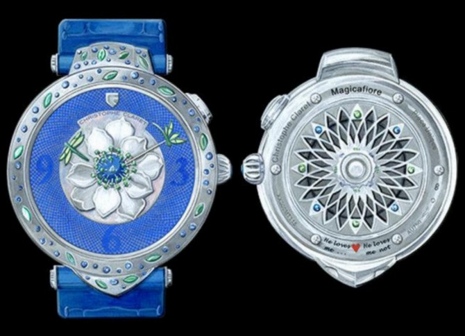 Only Watch 2017 - Magicafiore, an exceptional and one­of­a­kind ladies' watch