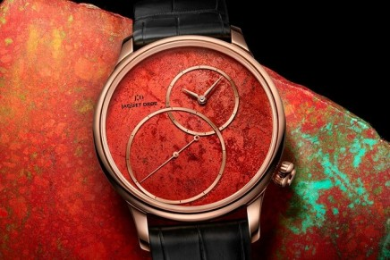 Only Watch Charity Auction: Jaquet Droz presents an exceptional Grande Seconde Off-Centered model