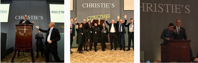 Only Watch x christies