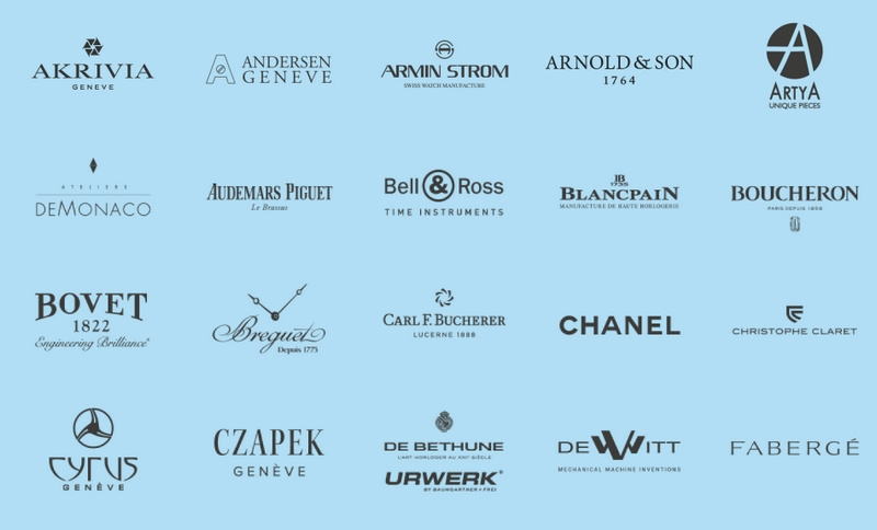 Only Watch2019 - 04 - some of the participating brands