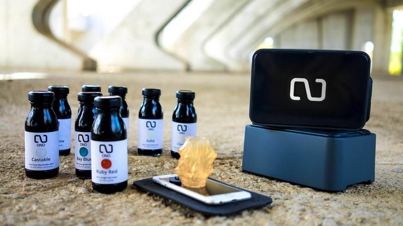 Ono 3D - fisrt smartphone 3D printer
