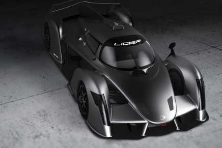 LIGIER JSP4 concept opens up new horizons for the sports prototypes dedicated to endurance  racing