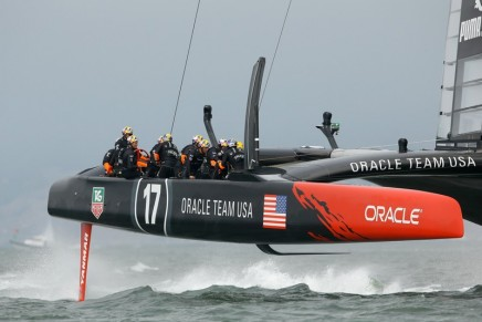 New America's Cup class yacht achieves speeds of up to 100 km/h