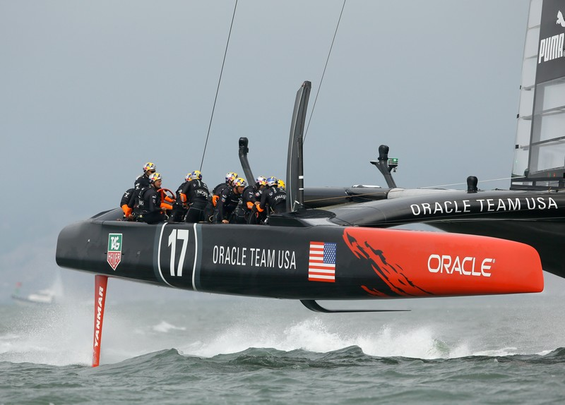 Oracle Team in action