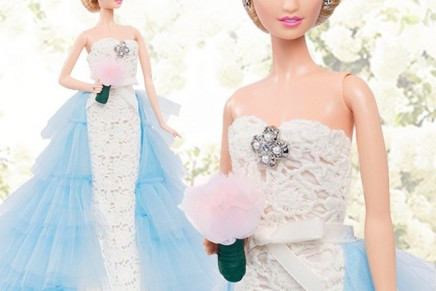 A coveted collectible for all ages: Limited Edition Oscar de la Renta Bridal Barbie Doll